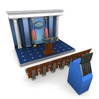 White House Press Room Bundle 1