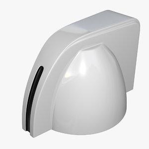 3d mini chickenhead knob