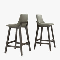 3D poliform ventura stool massaud