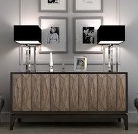 3d andrew martin aubrey cabinet model
