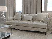 3ds max baker sensei sofa