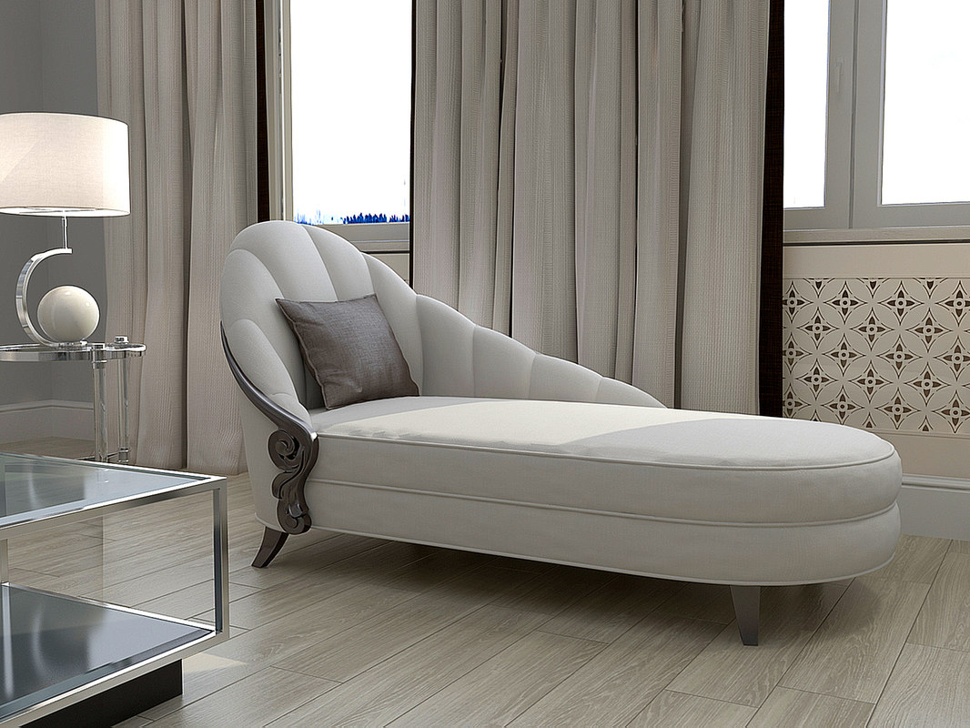 3d model christopher guy chaise lounge