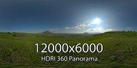 HDRI Verblyudogorka meadow hills