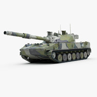 3d model of 2s25 sprut russian