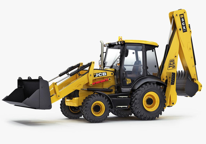 loader 3cx 3d max