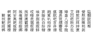 Mandarin 1 set 's text sample