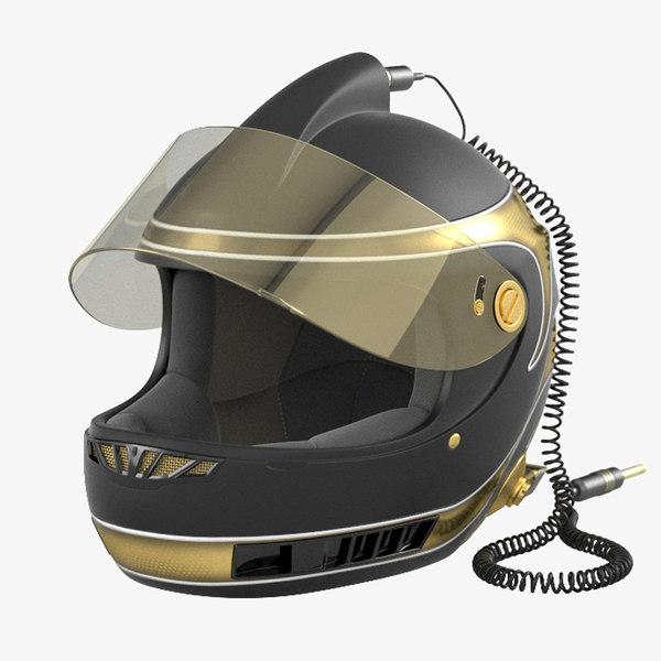 nascar helmet 3d model