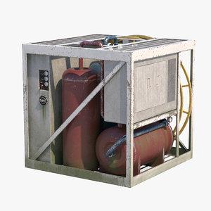general industrial box 3d max