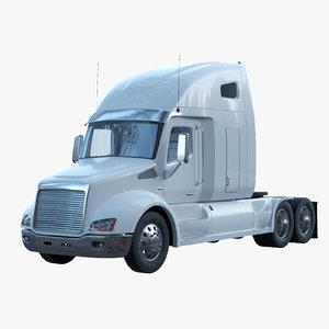 semi-trailer truck 3d max