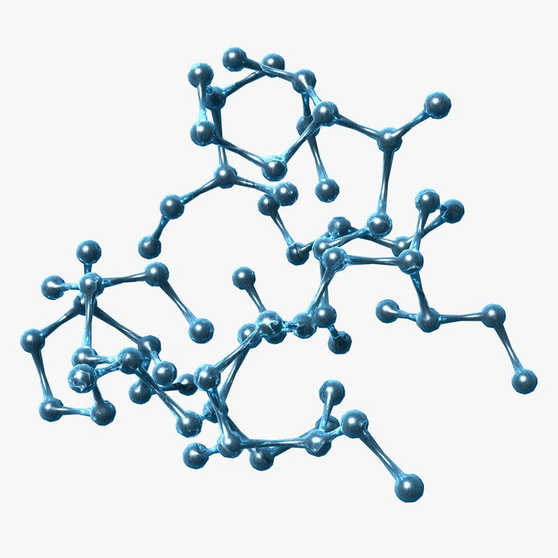 3d molecule lightwave model
