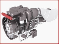 Apache Helicopter Engine