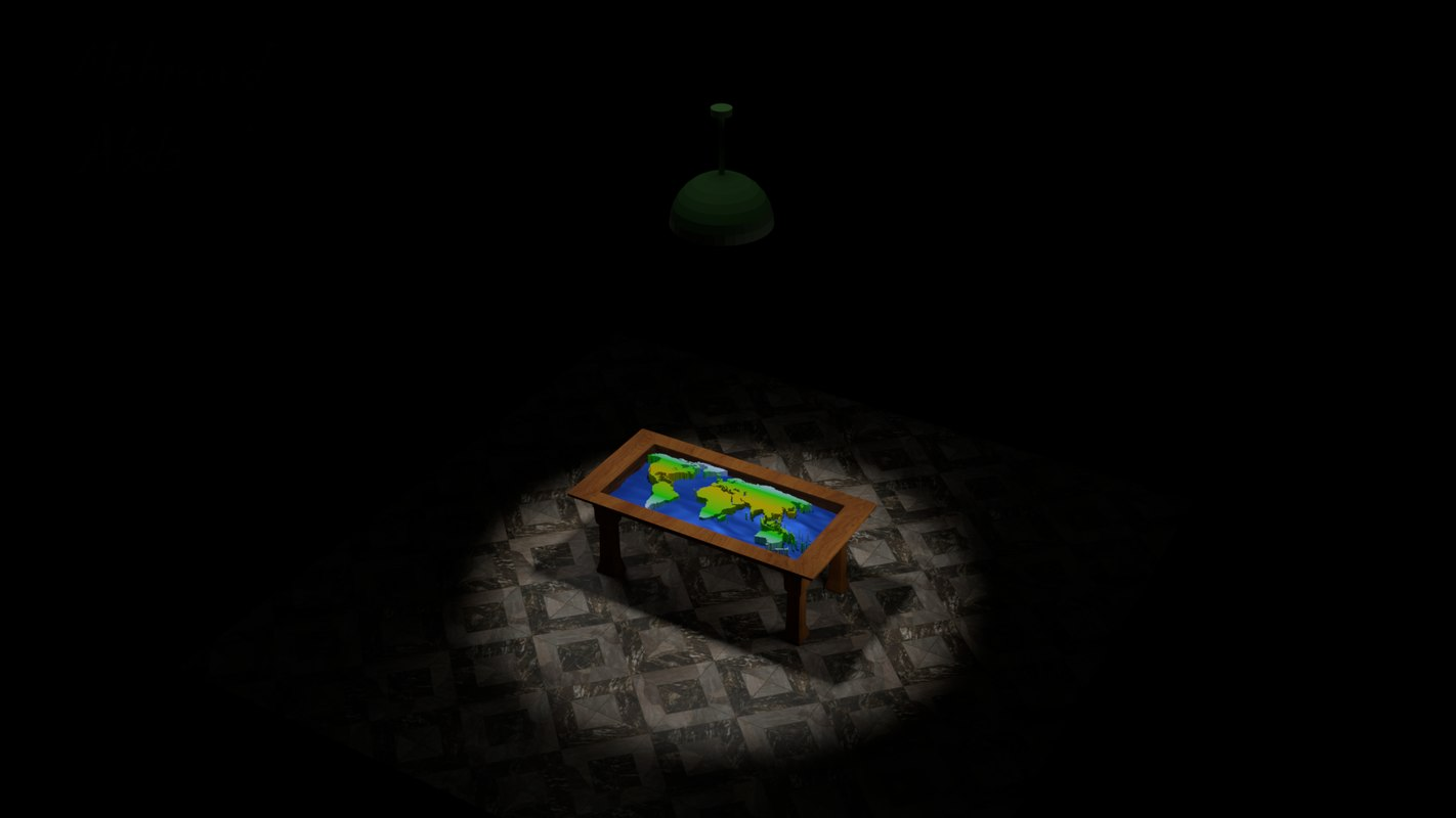table world 3D model