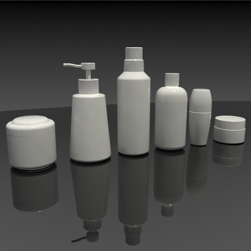 3d plastic toiletry