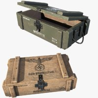3d ammo crates