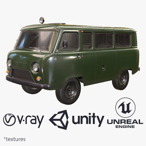 ready uaz 452 2206 3d max