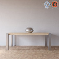 3d model dermi table yolis