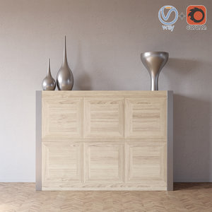3d model komod chest yolis