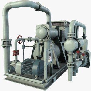 3d compressor polys unity