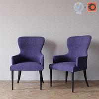 3d 640-a armchair wesley hall model
