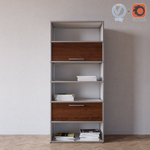 spinoff shelving topdeq 3d model