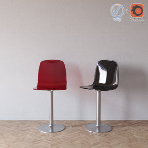 topdeq gildas chair 3ds
