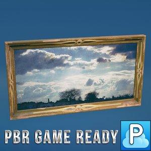 ready paintings fbx