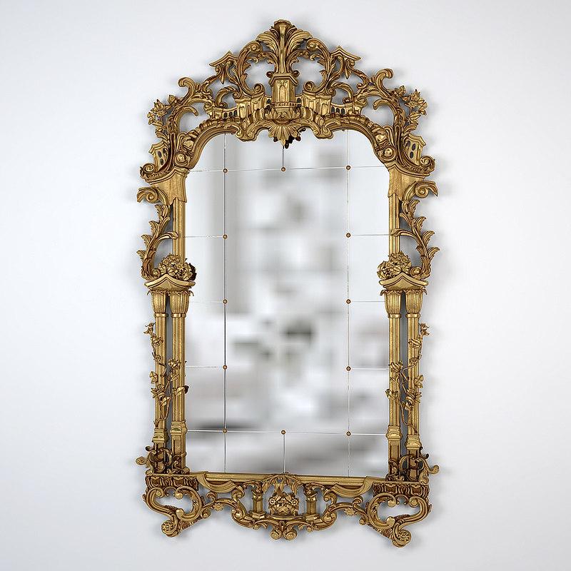 provasi luxury mirror 3d model