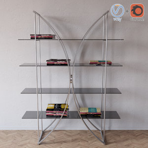 max book shelf 7245 tonin