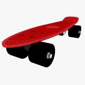3d skating board 01