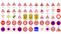 traffic signs full pack