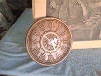 sailor clock wood relief in stl. file