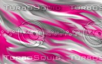 Pink and white abstract