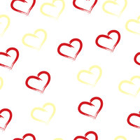 seamless tileable pattern with hearts