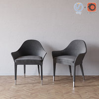 manta armchair smania 3d model