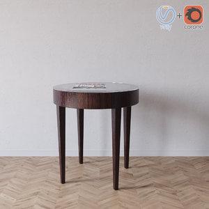 3d downtown 3703 table selva model