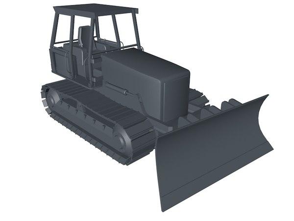 c4d bulldozer