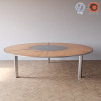 3d model o-zon table botania