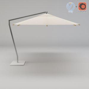 3d umbrella shax40zu royal botania model