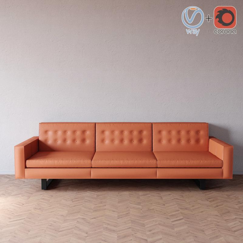 3d wells sofa room board