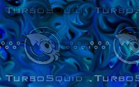 Blue abstract swirls