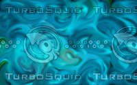 blue abstract lighting swirls