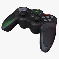 3d model wireless gamepad
