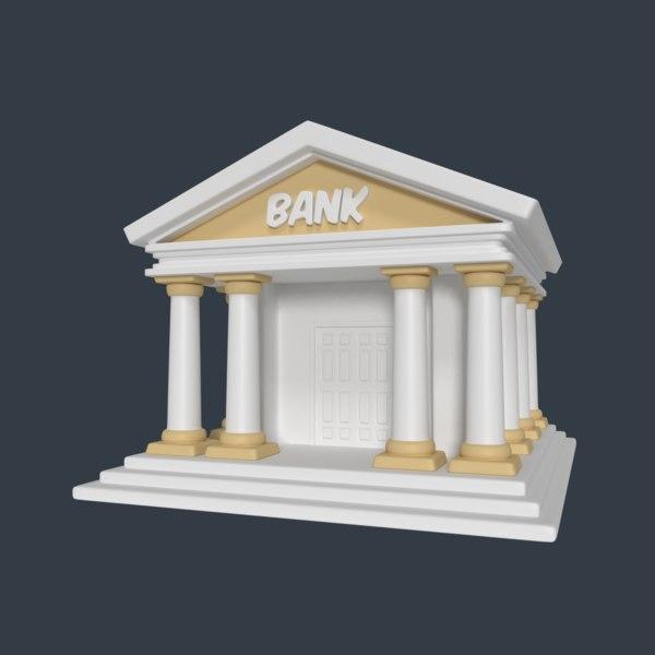3d model bank
