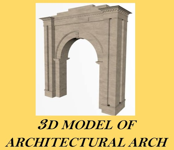 decorative archway 3d 3ds