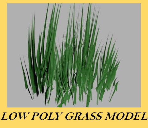 3d model of grass xml stl