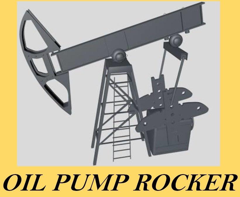 oil rocker pump 3d 3ds