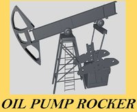 oil rocker pump 3d 3ds