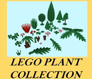 lego plant 3ds