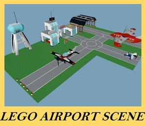 lego airport dxf