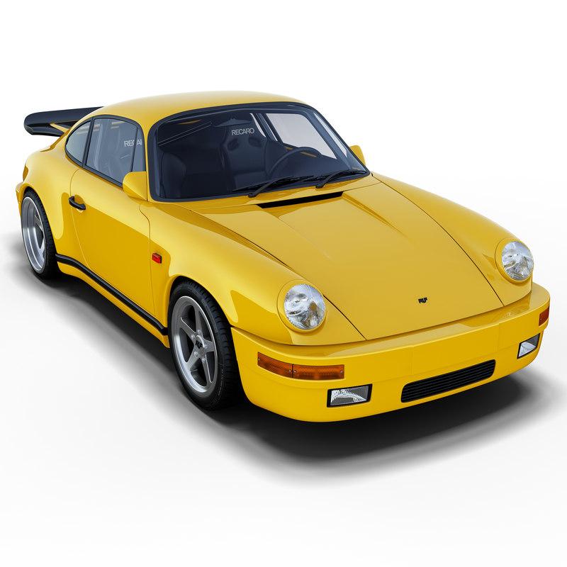 3d model ruf ctr yellowbird